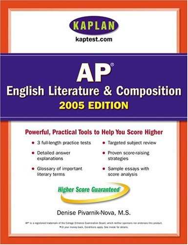 Kaplan AP English Literature And Composition 2005: Kaplan