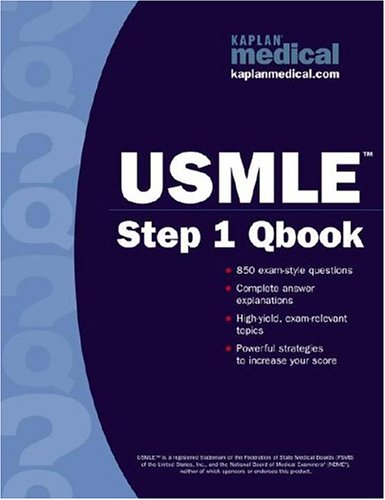 9780743262385: Kaplan Medical: USMLE Step 1 Qbook, 1st Edition
