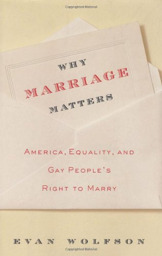 what is marriage by evan wolfson Evan wolfson, president of freedom to marry, called the decision a  transformative triumph decades in the making, a momentous victory for.