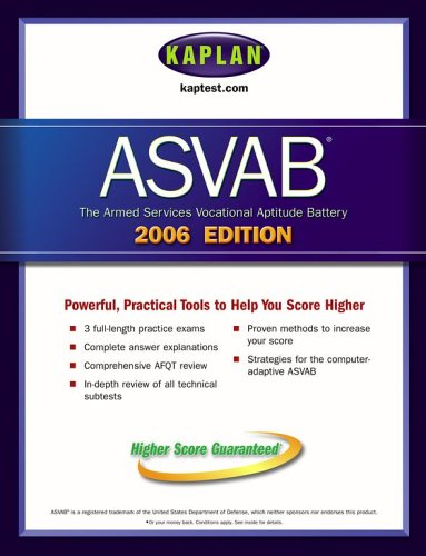 9780743265515: Kaplan ASVAB 2006