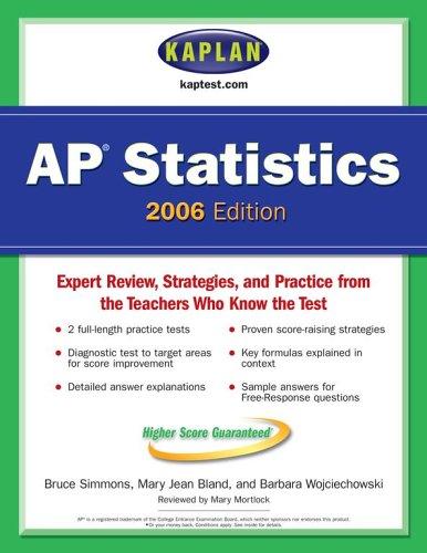 9780743265577: Kaplan AP Statistics 2006