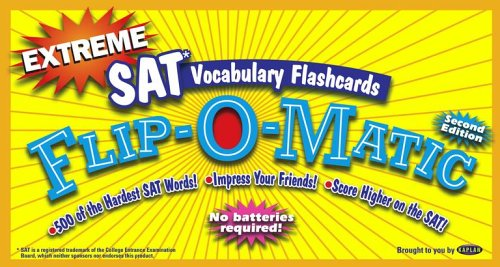 9780743265614: Extreme SAT Vocabulary Flashcards Flip-O-Matic, Second Edition