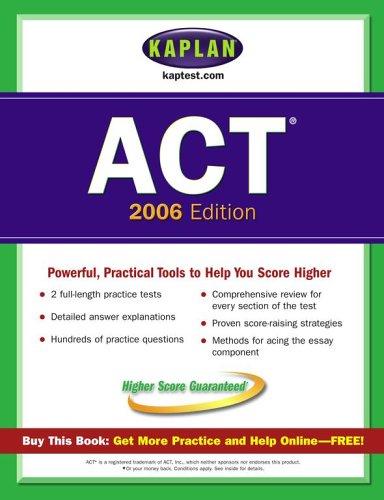 9780743265645: Kaplan ACT 2006