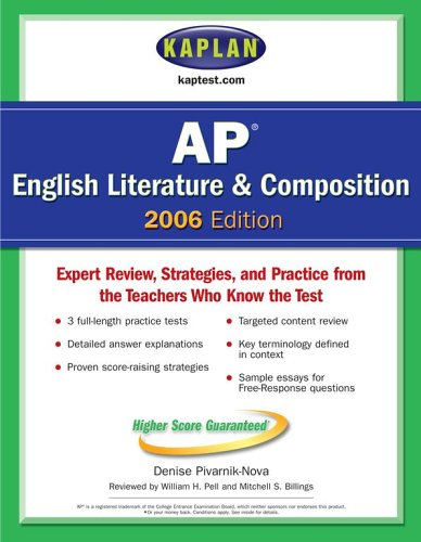 9780743265805: Kaplan AP English Literature and Composition 2006