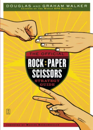 9780743267519: The Official Rock Paper Scissors Strategy Guide
