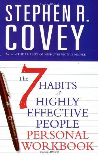 9780743268165: 7 Habits of Highly Effective People: Personal Workbook (Covey)
