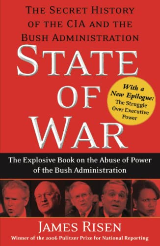 9780743270670: State of War: The Secret History of the CIA and the Bush Administration