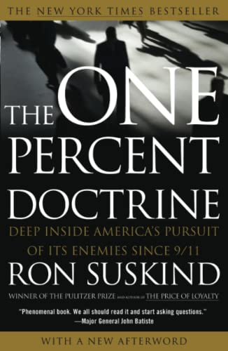 9780743271103: The One Percent Doctrine: Deep Inside America's Pursuit of Its Enemies Since 9/11