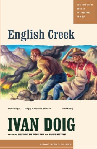 9780743271271: English Creek (Montana Trilogy)