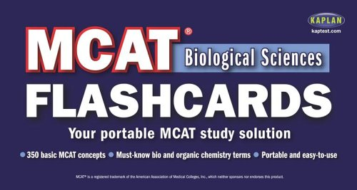 9780743271400: Kaplan MCAT Biological Sciences Flashcards