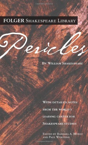 9780743273299: Pericles (Folger Shakespeare Library)