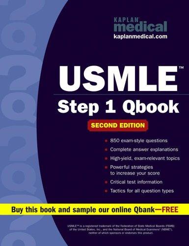 9780743273435: Kaplan Medical USMLE Step 1 Qbook