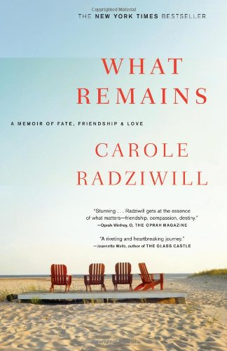 9780743277181: What Remains: A Memoir of Fate, Friendship, and Love