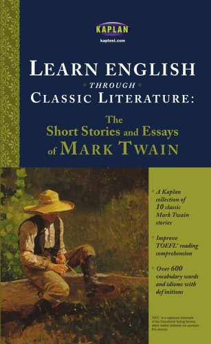 9780743280556: Learn English through Classic Literature: The Short Stories and Essays of Mark Twain