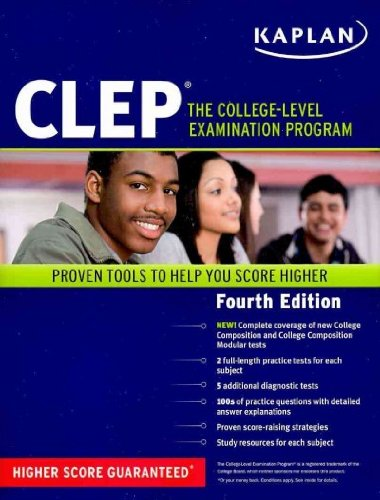 9780743280570: Kaplan CLEP: The College Level Examination Program, Fourth Edition