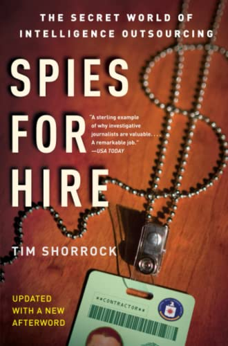 9780743282253: Spies for Hire: The Secret World of Intelligence Outsourcing