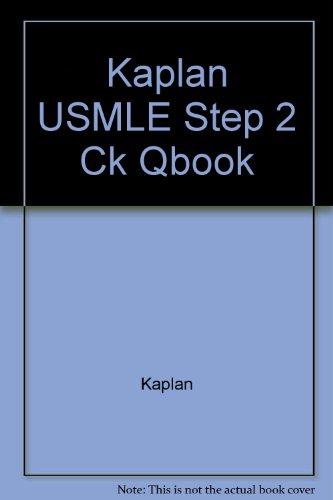 9780743283083: Kaplan USMLE Step 2 Ck Qbook