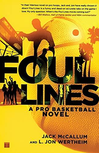 9780743286503: Foul Lines: A Pro Basketball Novel
