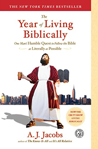 9780743291484: The Year of Living Biblically: One Man's Humble Quest to Follow the Bible as Literally as Possible