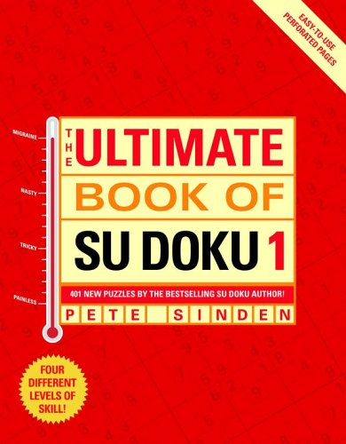 The Ultimate Book of Su Doku 1: Sinden, Pete