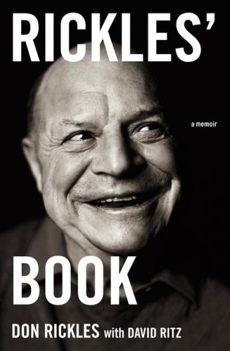 Rickles' Book: A Memoir SIGNED FIRST PRINTING: Don Rickles and