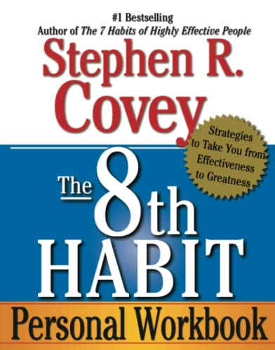 9780743293198: The 8th Habit Personal Workbook: Strategies to Take You from Effectiveness to Greatness