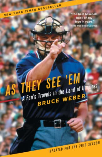 9780743294133: As They See 'Em: A Fan's Travels in the Land of Umpires