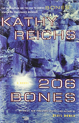 9780743294393: 206 Bones (Temperance Brennan Series, Book 1)