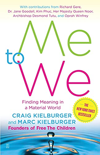 9780743294515: Me to We: Finding Meaning in a Material World