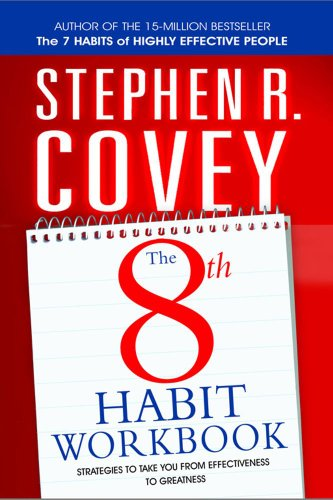 9780743295093: 8th Habit Personal Workbook: Strategies to Take You from Effectiveness to Greatness