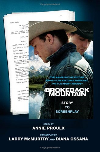 9780743298155: Brokeback Mountain: Story to Screenplay