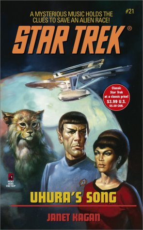 Uhura's Song (Star Trek: the Original Series) (0743403738) by Janet Kagan