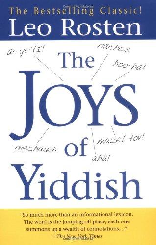 9780743406512: The Joys of Yiddish