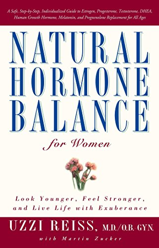 9780743406666: Natural Hormone Balance for Women: Look Younger, Feel Stronger, and Live Life with Exuberance