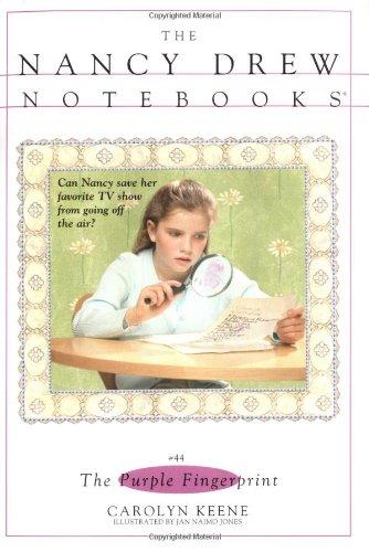 9780743406925: The Purple Fingerprint (Nancy Drew Notebooks #44)