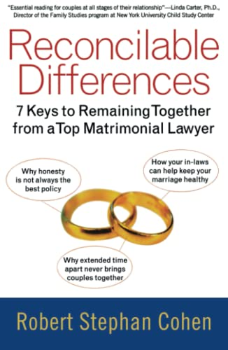 9780743407120: Reconcilable Differences: 7 Keys to Remaining Together from a Top Matrimonial Lawyer
