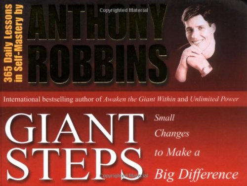 9780743409360: Giant Steps: Small Changes to Make a Big Difference