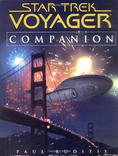 9780743417518: Star Trek Voyager Companion