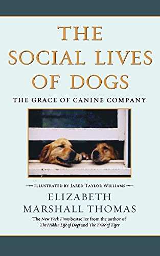 9780743422369: The Social Lives of Dogs: The Grace of Canine Company