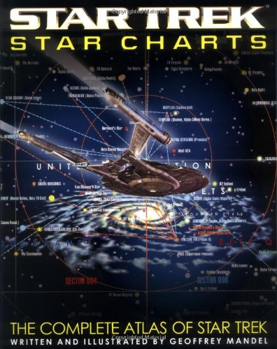 9780743437707: Star Trek Star Charts: The Complete Atlas of Star Trek