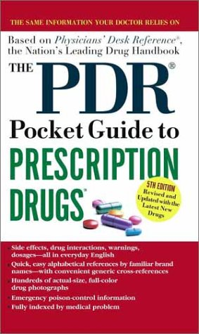 9780743437950: The PDR Pocket Guide to Prescription Drugs: 5th Edition (Physicians' Desk Reference Pocket Guide to Prescription Drugs)