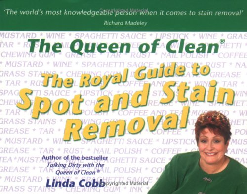 The Royal Guide to Spot and Stain Removal (0743440854) by Cobb, Linda