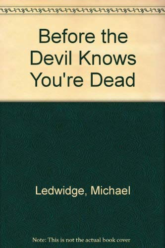 9780743442862: Before the Devil Knows You're Dead