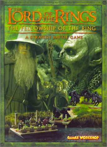 9780743442978: The Lord of the Rings: The Fellowship of the Rings: A Strategy Battle Game