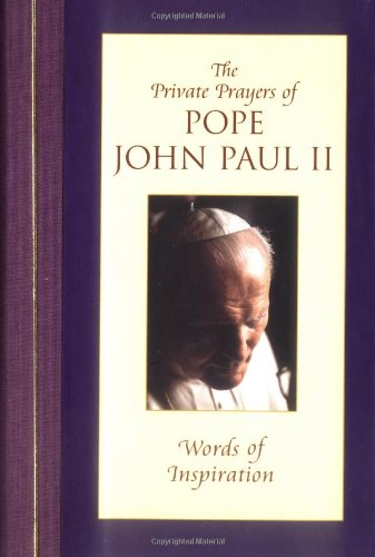 9780743444378: Words of Inspiration (Private Prayers of Pope John Paul II) (v. 1)