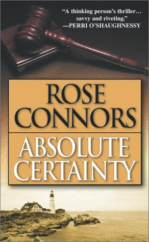 9780743448819: Absolute Certainty: A Crime Novel