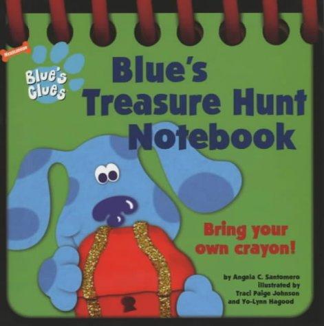9780743449984: Blue's Treasure Hunt Notebook (Blue's Clues)