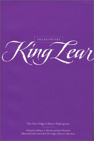 9780743452946: King Lear (New Folger Library Shakespeare)