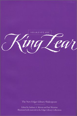 9780743452946: King Lear (The New Folger Library Shakespeare)