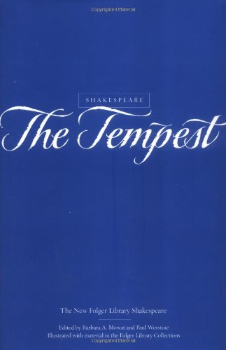 9780743452953: The Tempest (The New Folger Library Shakespeare)